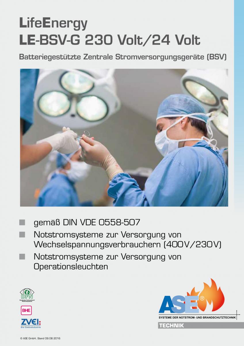 LE-BSV-G 230/24V