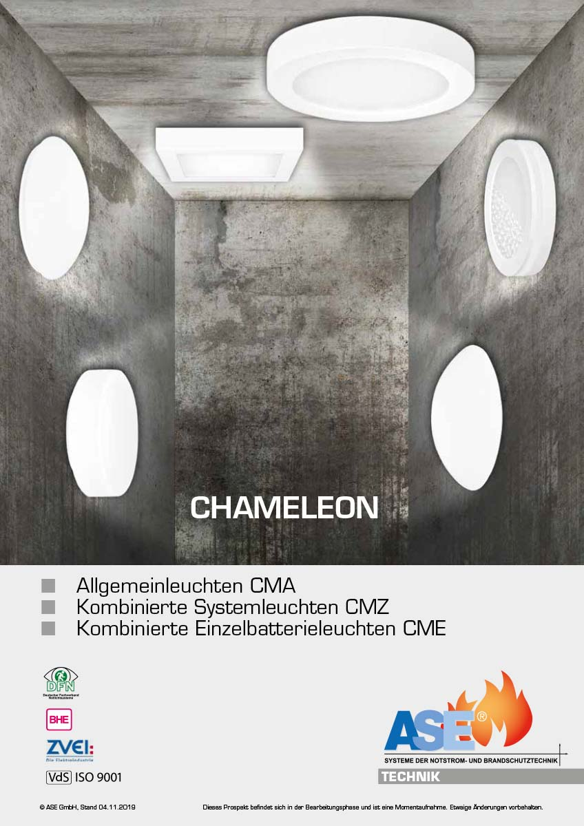 Allgemein-/Notleuchten CHAMELEON